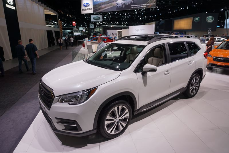 PORTLAND TRIBUNE: JEFF ZURSCHMEIDE - The new Subaru Ascent mid-size SUV is the largest vehicle the company has ever made. It offers three rows of seats in a generous interior.