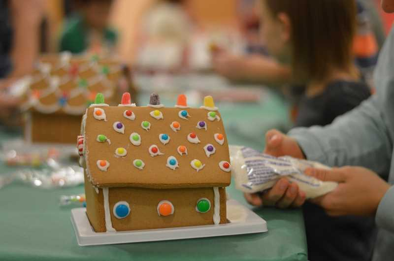 SPOKESMAN PHOTO: CLARA HOWELL - Boones Ferry Primary hosts Gingerbread Night for students and their families.