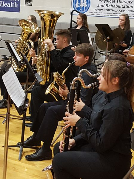 PHOTO COURTESY: LESLIE ROBINETTE - Gladstone's school bands have several performances scheduled in December.