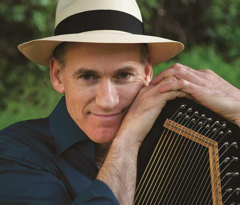 Folksinger and storyteller Adam Miller will be at the library for a Dec. 9 show.