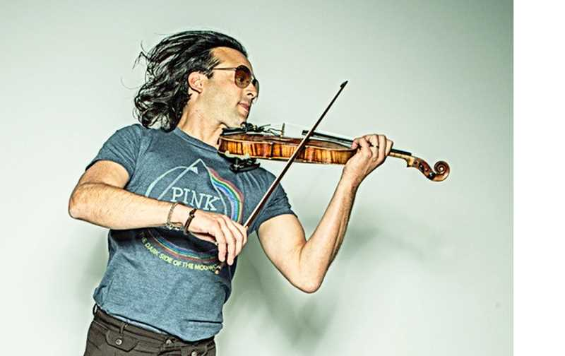 SUBMITTED - Concert rock violinist Aaron Meyer will perform at Newberg High School on Wednesday (Dec. 6) and Chehalem Cultural Center on Dec. 13.