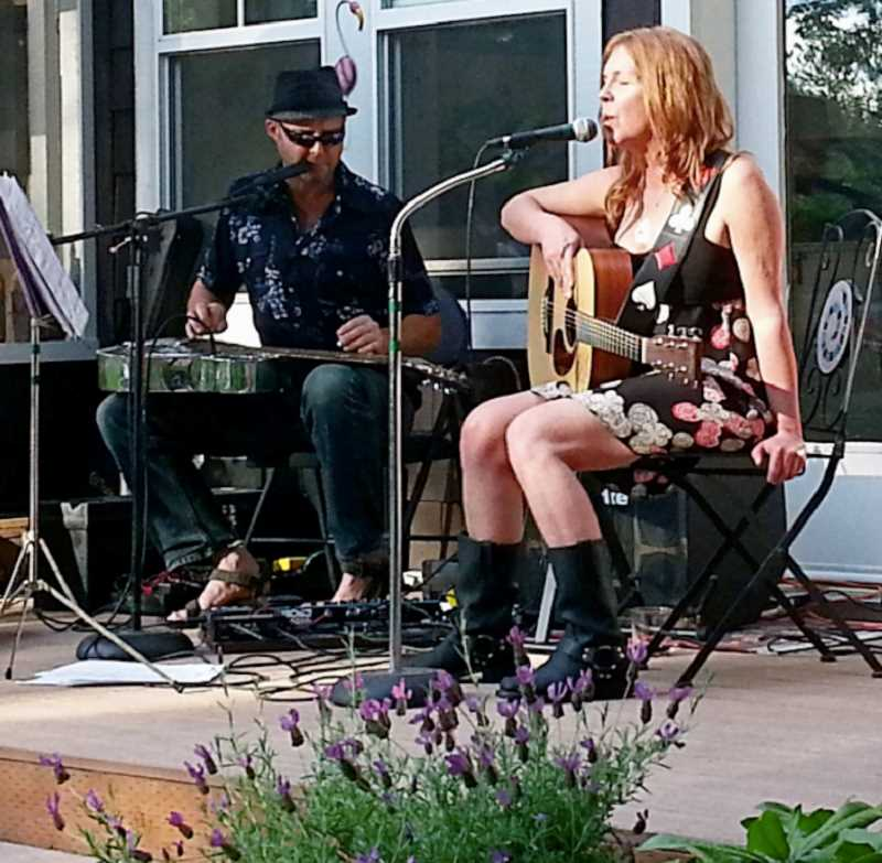 CONTRIBUTED PHOTO: MOJO HOLLER - Musical duo Mojo Holler will be one of several bands playing during the Estacada Broadway Street Music Fest.