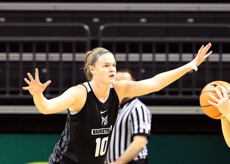 COURTESY: SCOTT LARSON - Courtney West and the Portland State women's basketball team have aspirations of success in the Big Sky Conference this season.