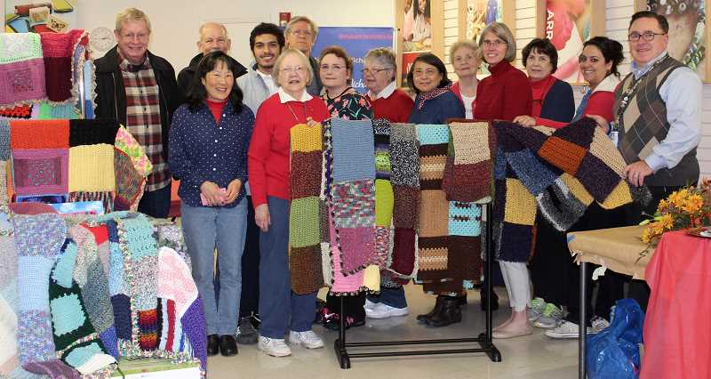 THE TIMES: MANDY FEDER-SAWYER - Afghans were made with love and picked up by the Veterans Administration on Thursday, Nov. 16.