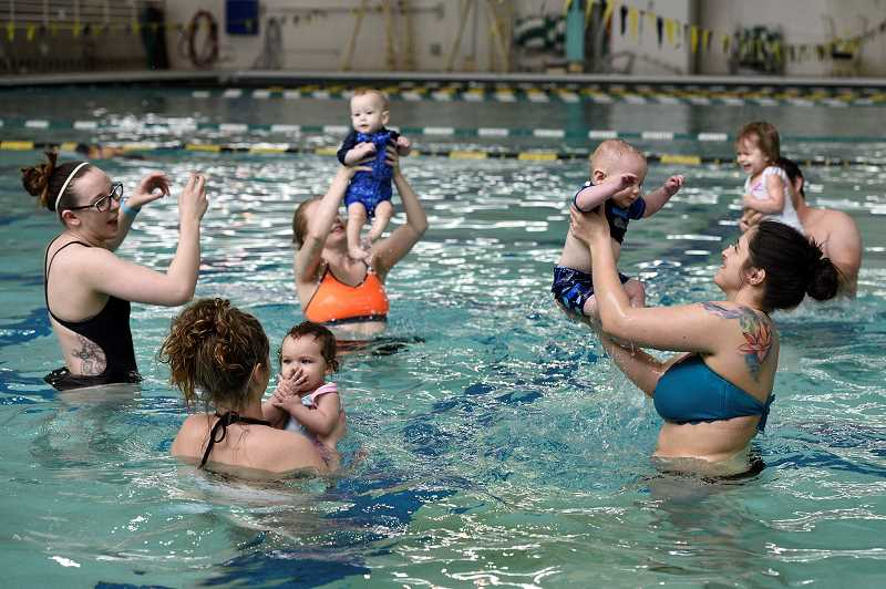 COURTESY: THPRD - Swim lessons are among the most popular year-round classes THPRD offers. Registration for winter classes begins Saturday.