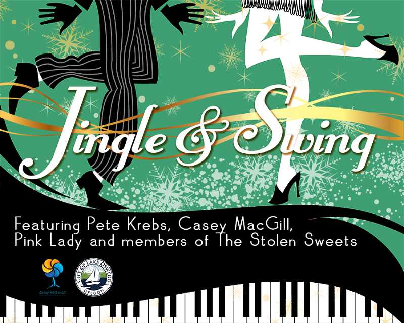 SUBMITTED PHOTO  - Get tickets now for Jingle and Swing taking place Dec. 16 at Lakeridge High School auditorium.