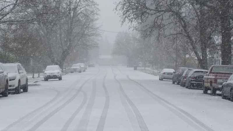 HERALD FILE PHOTO - Canby School District has made plans in case of a repeat of last year's winter weather.