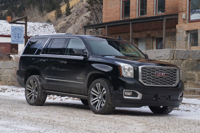 PORTLAND TRIBUNE: JEFF ZURSCHMEIDE - The big news for the Yukon Denali this year is that the new GMC 10-speed automatic transmission is now available with the 6.2-liter V8 engine. It also comes with the magnetic ride control suspension, borrowed from the top performance Corvettes and Camaros on the Chevy side.
