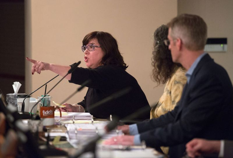TRIBUNE FILE PHOTO - Portland city Commissioner Chloe Eudaly says her personal Facebook and Twitter accounts are not subject to Oregon Public Records Law.