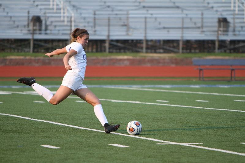 CONTRIBUTED - Lacey, a standout on the Gopher soccer team, also boasts a 3.86 grade point average.