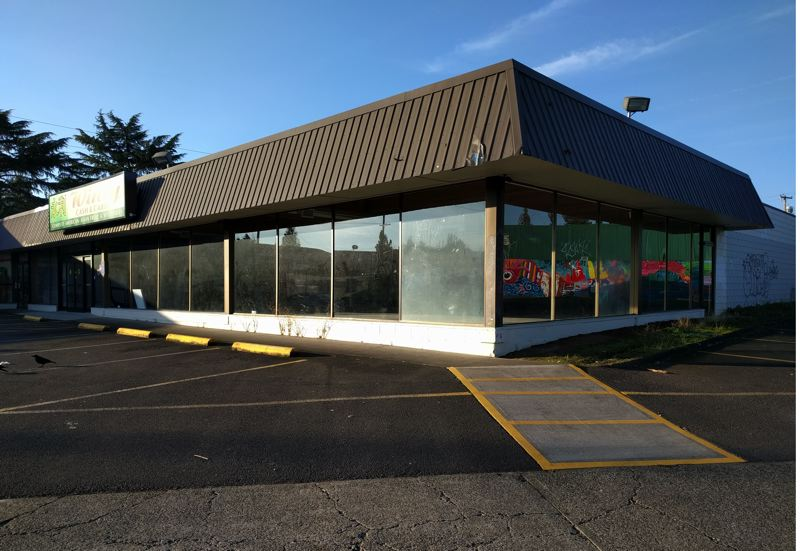 PORTLAND TRIBUNE: JIM REDDEN - This vacant grocery store at 6144 S.E. Foster Road is scheduled to open as a homeless shelter early next year.