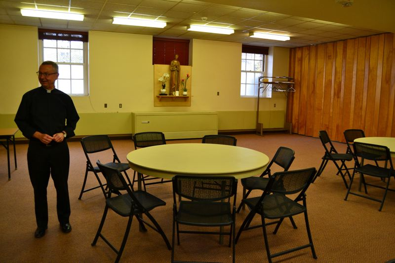 PAMPLIN MEDIA GROUP: JULES ROGERS - The inside of the halls community center is currently quite small.