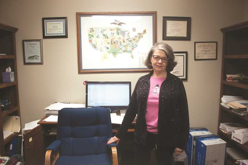 MERARI CALDERON RUIZ - Nora Clark's 50 year run at a Canby company is coming to an end with her retirement.