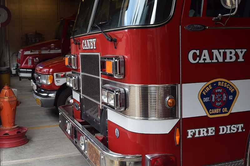 The Canby Fire District sent four firefighters to help with the California wildfires.