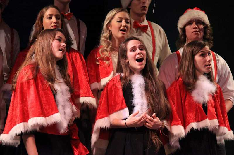 Christmas music will be in full glory Sunday at Canby Grove Conference Center in Canby.