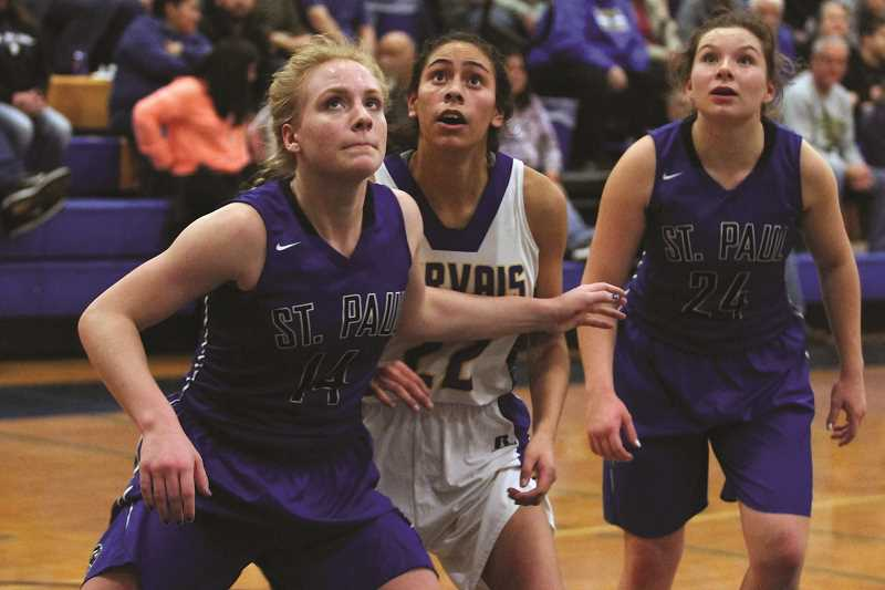PHIL HAWKINS - The improvement of sophomore like Isabelle Wyss (left) combined with veterans like senior Emma Connor (right) give the Buckaroos a potent formula for going far in the state playoffs this year.