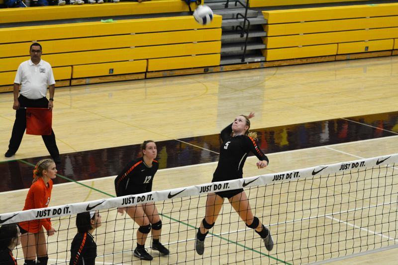 SPOTLIGHT PHOTO: JAKE MCNEAL - Hannah Galey is a senior honorable mention volleyball outside hitter.