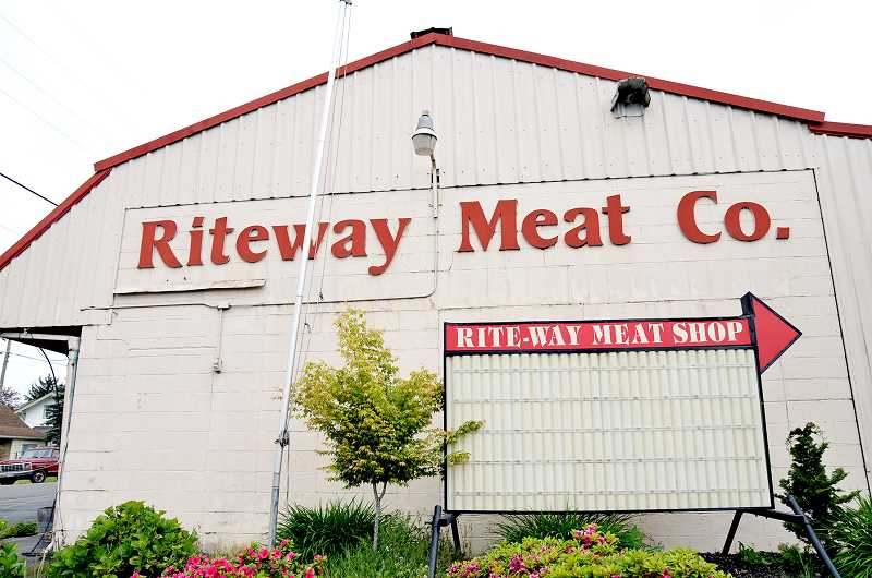 GRAPHIC FILE PHOTO - Riteway Meat Co. closed its doors for good in January 2015 after allegations surfaced that the company had let customers' meat spoil.