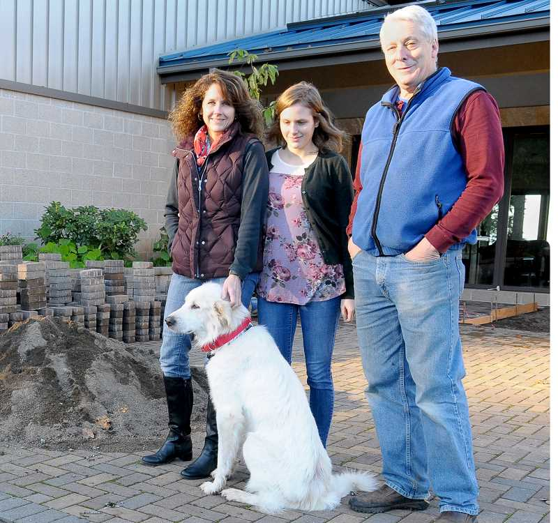 SUSAN BRANNON - The Flora family was reunited with Stella, their Great Pyrenees pet, after a months-long search that began last spring.