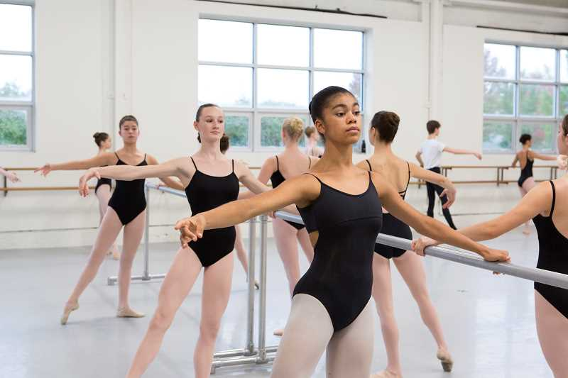 COURTESY: THE PORTLAND BALLET - The Portland Ballet, which draws from all over the Portland area, will hold auditions and free pre-ballet classes in January.