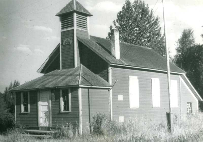PHOTO COURTESY WILSONVILLE-BOONES FERRY HISTORICAL SOCIETY - Many of Wilsonville's oldest buildings, such as the former Advance School, are no longer standing or so altered they are unrecognizable.
