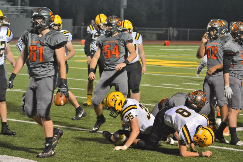 SPOTLIGHT PHOTO: JAKE MCNEAL - Ross Parsons (54) is a senior first-team linebacker.