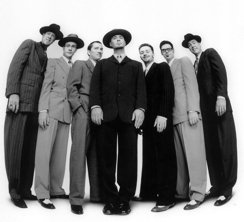 COURTESY PHOTO - Big Bad Voodoo Daddy plays with the Oregon Symphony, Dec. 16.