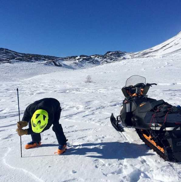 SUBMITTED PHOTO  - NASA is looking for snowshoers, backcountry skiers and snow-machine users to gather data for snow water equivalent program.