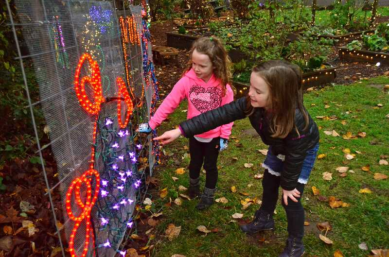 TIDINGS FILE PHOTO - Join your favorite woodland creature for the Lighting of Maddax Woods in West Linn.