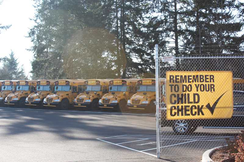 HERALD PHOTO: KRISTEN WOHLERS - Though Student Transportation of America has a strick child check policy, an 8-year-old Lee Elementary student was abandoned on a school bus Dec. 8.