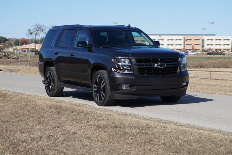 PORTLAND TRIBUNE: JEFF ZURSCHMEIDE - The Tahoe RST is visually distinct, offered in white, silver, gray, or black, with a set of special wheels that fit the color scheme and the performance nature of the RST.