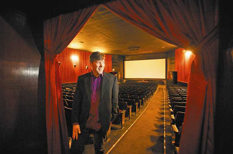 "TIMES FILE PHOTO - Jeff Martin, owner of the Joy Cinema, will perform holiday carols with his band, the Jim-Jams, Friday evening at a screening of ""Santa Claus Conquers the Martians."""