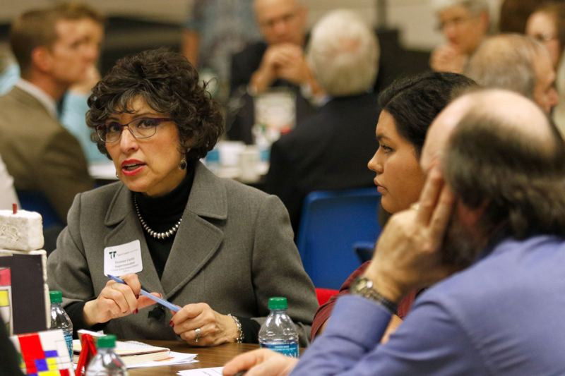 PAMPLIN MEDIA GROUP FILE PHOTO - Yvonne Curtis, shown here in 2015, left the top job at Forest Grove School District Dec. 12. She will now work for Portland Public Schools.