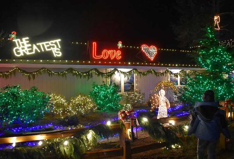 SUBMITTED PHOTO: ASPEN MEADOW - More than 150,000 lights are on display at Aspen Meadow Dec. 9-26.