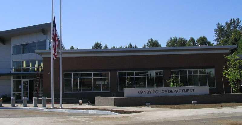 Canby Police Department.