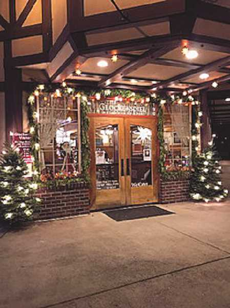 COURTESY PHOTO: KRISTI BRACKINREED - The Glockenspiel Restaurant won top honors in the 2017 chamber decorating contest.
