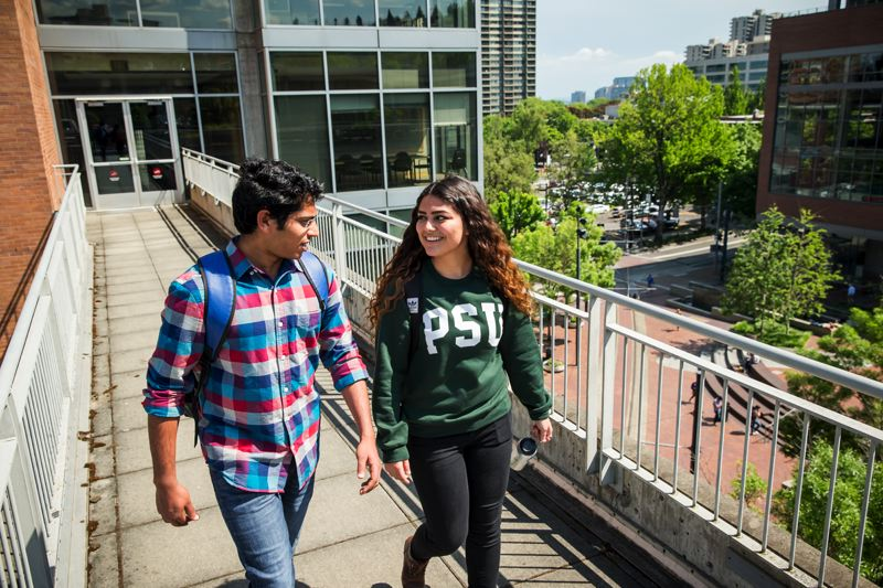 COURTESY: PORTLAND STATE UNIVERSITY - Portland State University is among the public universities in the state that are seeing rising costs due to promised pension funds.