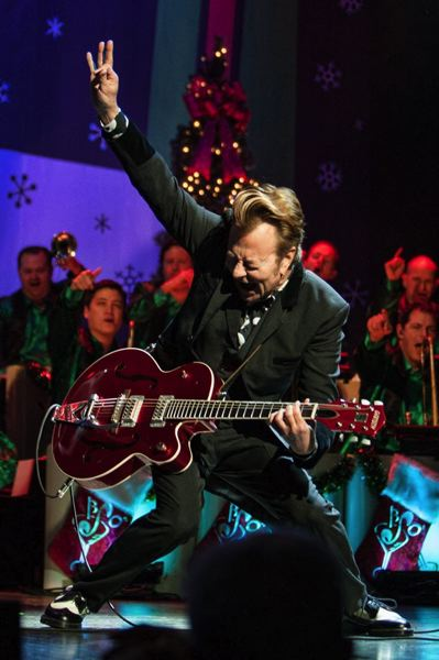 COURTESY PHOTO - Brian Setzer and his orchestra perform on their 'Christmas Rocks!' tour at Arlene Schnitzer Concert Hall, Dec. 27, one of a handful of events happening after Christmas as the celebration of the holidays continues.