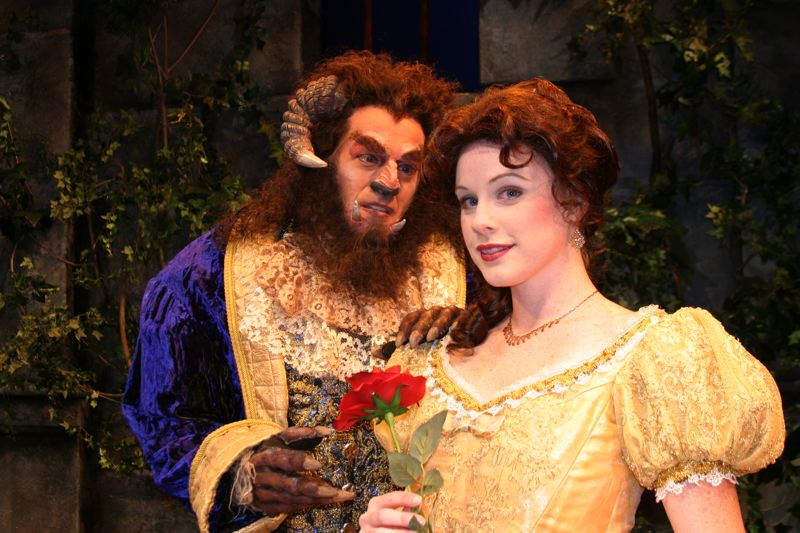 COURTESY PHOTO - The Pixie Dust Productions' staging of 'Beauty and the Beast' continues through Dec. 24 at Newmark Theatre.