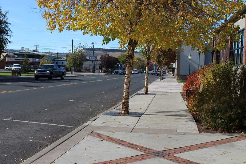 CENTRAL OREGONIAN FILE PHOTO  - Redevelopment plan will focus on sidewalk improvements, new trees and more.