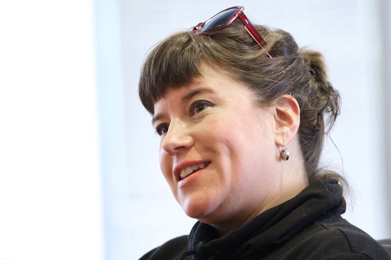 TRIBUNE FILE PHOTO - Portland City Commissioner Chloe Eudaly and the city are defendents in a federal lawsuit filed Dec. 21 by activist Mimi German, who alleges they violated her rights by refusing to release a Facebook 'screed.'