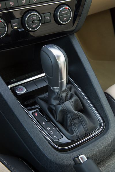 VOLKSWAGEN OF AMERICA - The optional six-speed automatic transmission has both Sport and manual shift modes.