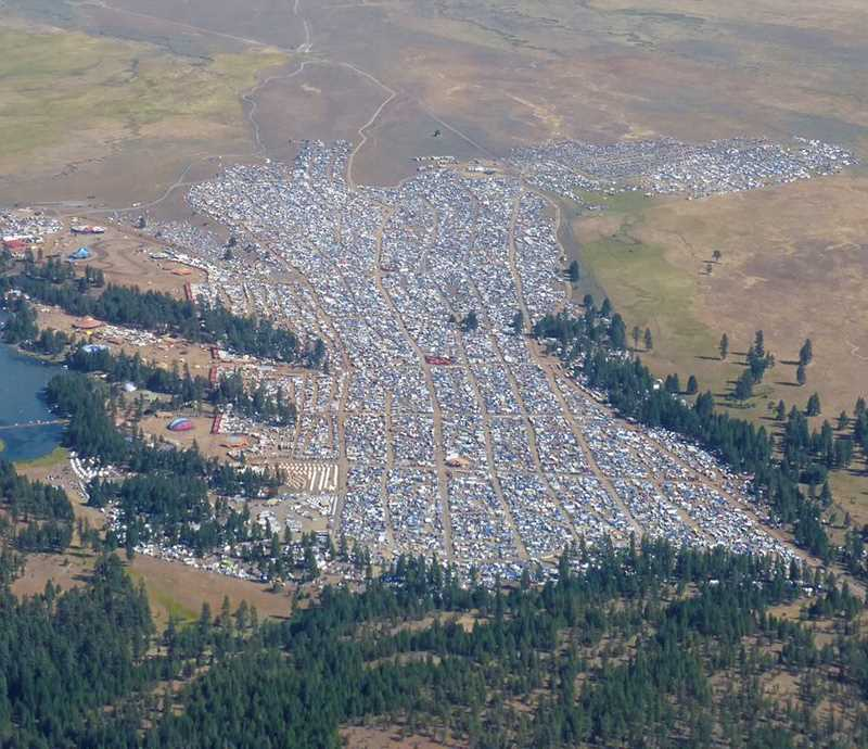 CENTRAL OREGONIAN - The Symbiosis eclipse event held in late August was permitted for about 35,000 people, but between 70,000 and 100,000 people attended the festival.