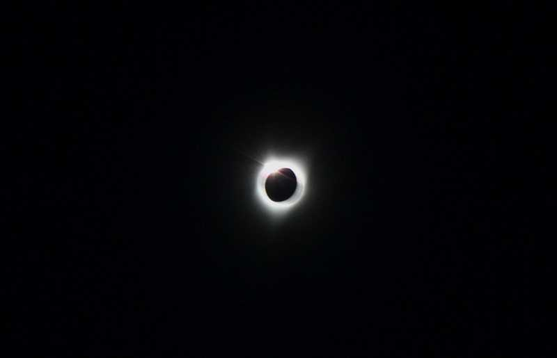 INDEPENDENT FILE PHOTO - The solar eclipse cloaked Marion County in darkness for more than a minute on Aug. 21.