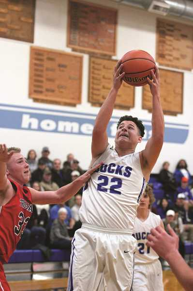 PHIL HAWKINS - St. Paul sophomore Alex Dela Cerda had six points, 10 rebounds and two blocks against Kennedy.