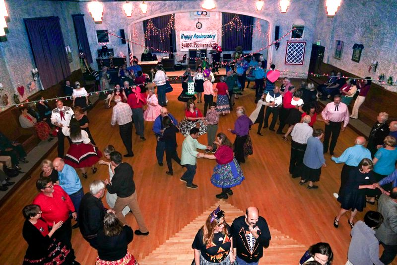 COURTESY PHOTO - Learn to square dance with Valley Squares. Classes start soon at Aloha Grange.