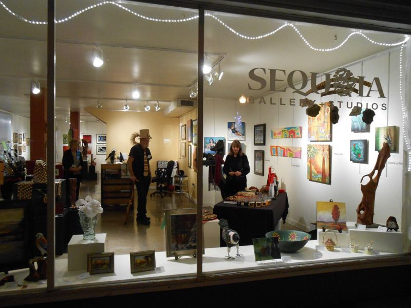 COURTESY PHOTO - Sequoia Gallery + Studios will celebrate its 10-year anniversary at an open house Jan. 2.