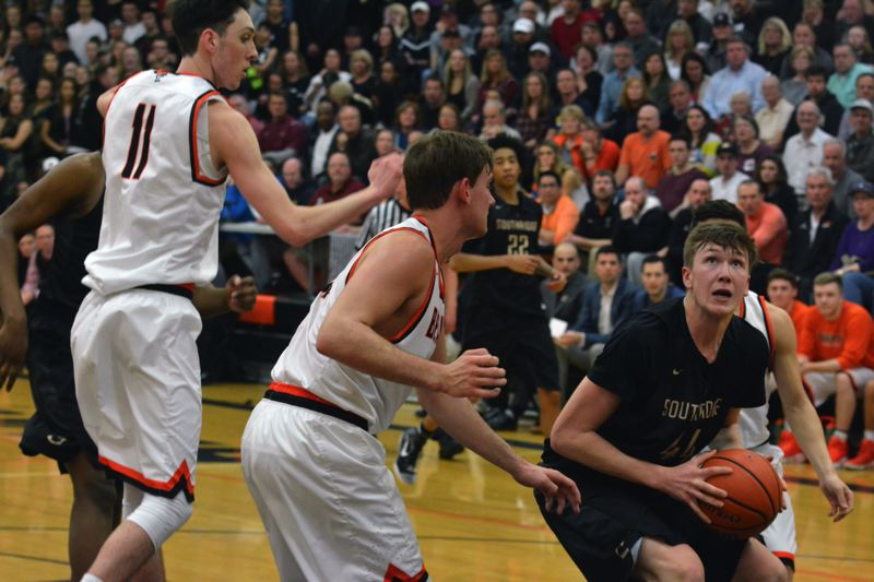 TIMES FILE PHOTO - Southridge senior Filip Fullerton and the Hawks are considered the favorites to win the Metro League this year.