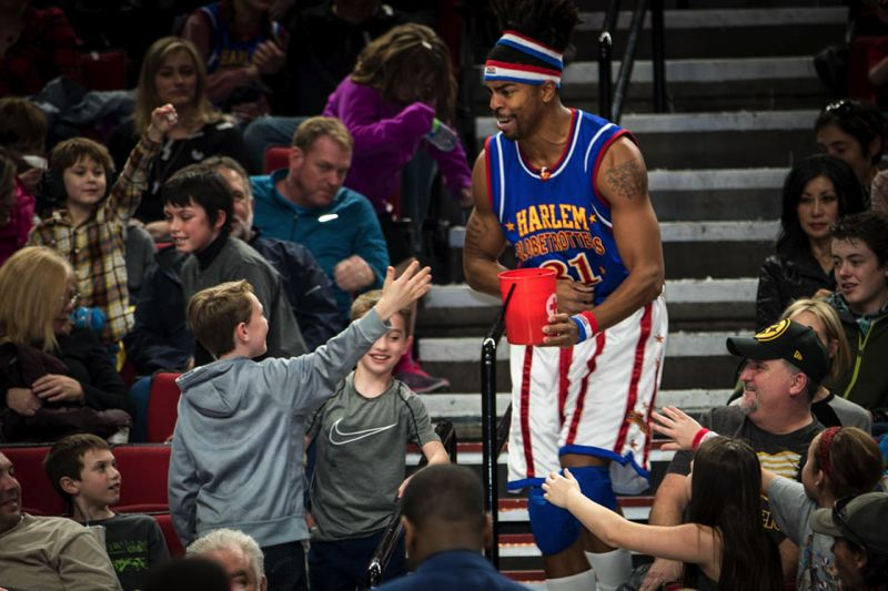 CONTRIBUTED PHOTO: AMERICAN RED CROSS - The Harlem Globetrotters will be partnering with the Red Cross for their games in Portland.