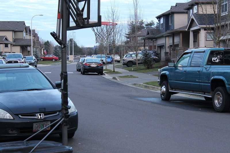 SPOKESMAN FILE PHOTO - Wilsonville has been suffering the same growing pains as the rest of the metro area, with rising rents and more traffic. In 2017 the City implemented a process for residential neighbors unhappy with street parking from nearby apartment dwellers to apply for a permit-only parking zone.